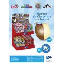 comprar huevos de chocolate surtido