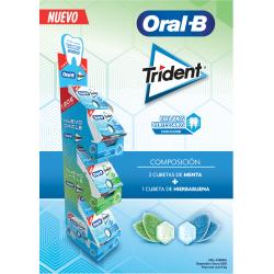 comprar lote trident oral b