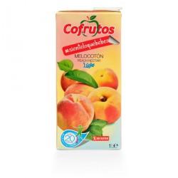 comprar zumo de melocoton sin azucar 1 litro