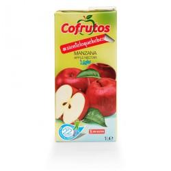 comprar zumo de manzana sin azucar 1 litro