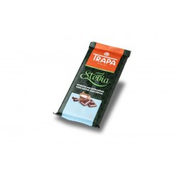 comprar chocolate leche stevia trapa