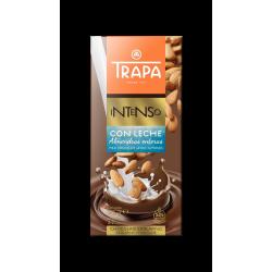 comprar CHOCOLATE INTENSO LECHE almendra TRAPA