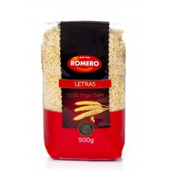 comprar letras romero 250g.
