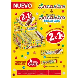 comprar lote lacasitos chocolatina + tubo
