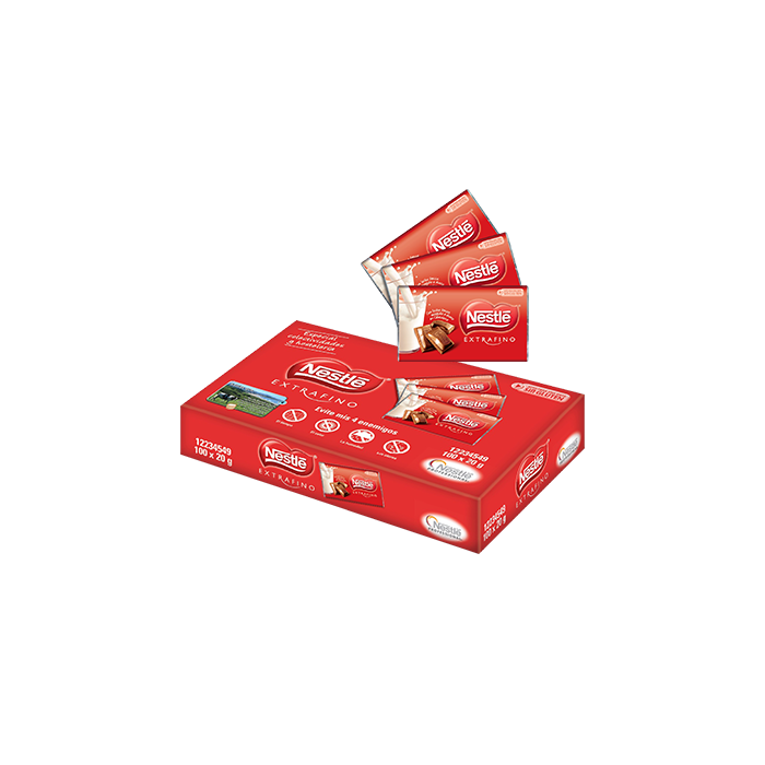 comprar chocolatina nestle