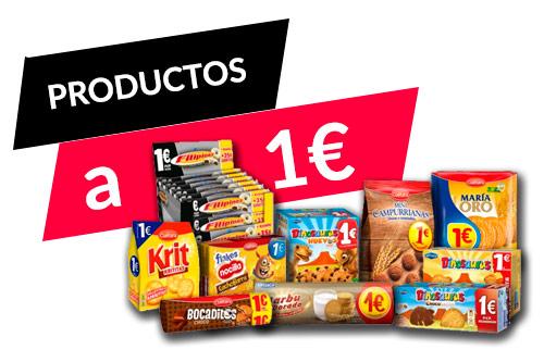 Productos a 1 euro
