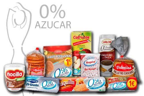 Productos sin azucar Distribuciones Egea